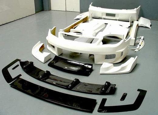 Тюнинг авто деталями из стеклопластика
